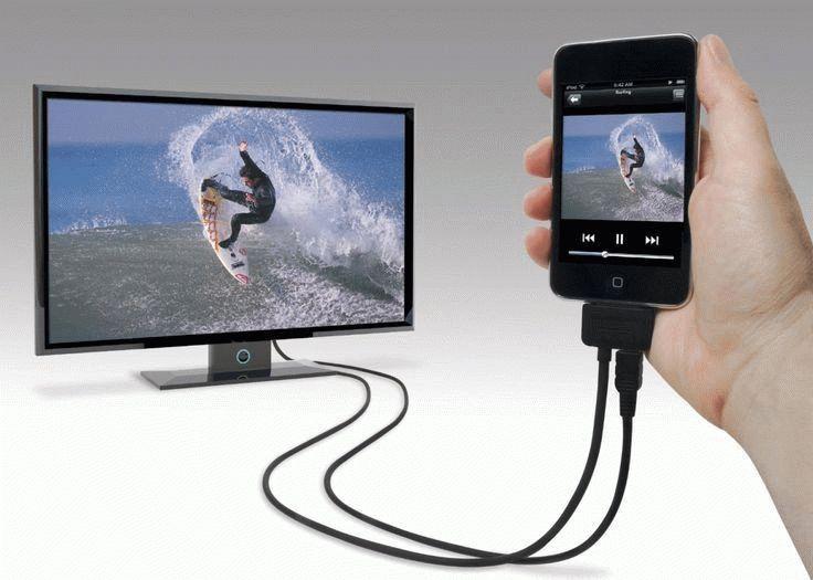 Как сделать телевизор через телефон 656