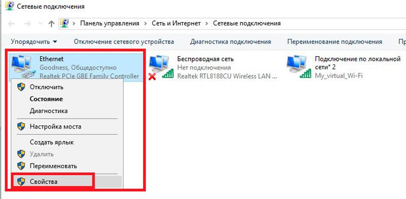 ... пользователям использовать подключение к интернету данного компьютера».  А ниже, в строке «Подключение домашней группы», выбираем нашу виртуальную  сеть ... bc2cac9edcf
